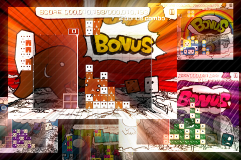 Screenshot LUMINES™ – Touch Fusion